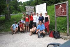 Preučevanje podorov na območju Velikega vrha v Košuti in Borove peči v Dovžanovi soteski (3.7.2010)